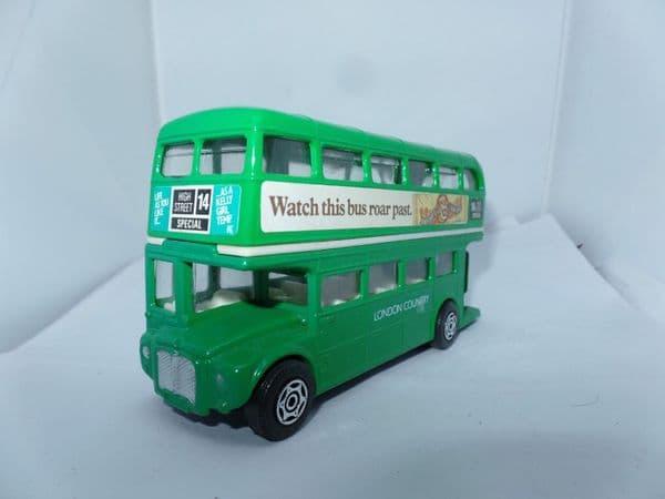 Corgi 469 1/64 London Country Routemaster Bus Lion Bar Green UB